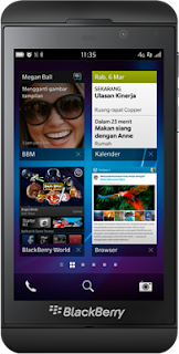 Harga Blackberry Z10 di Indonesia Gambar