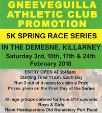 Killarney Spring 5k Series...Feb 2018