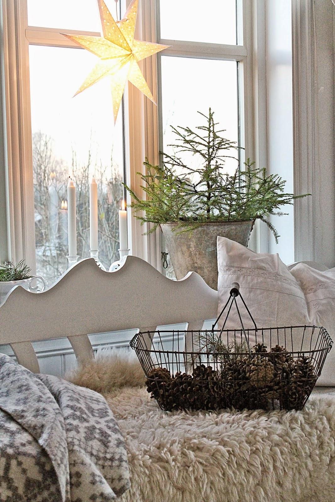 navidad vintage decoración
