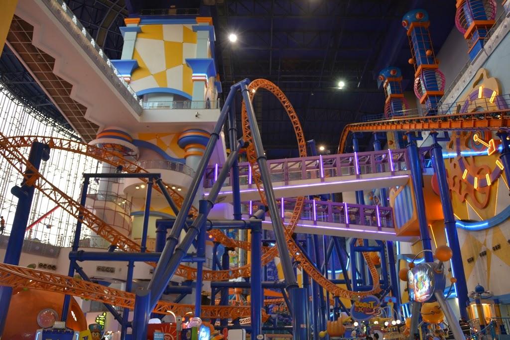 Berjaya Time Square Kuala Lumpur Roller Coaster