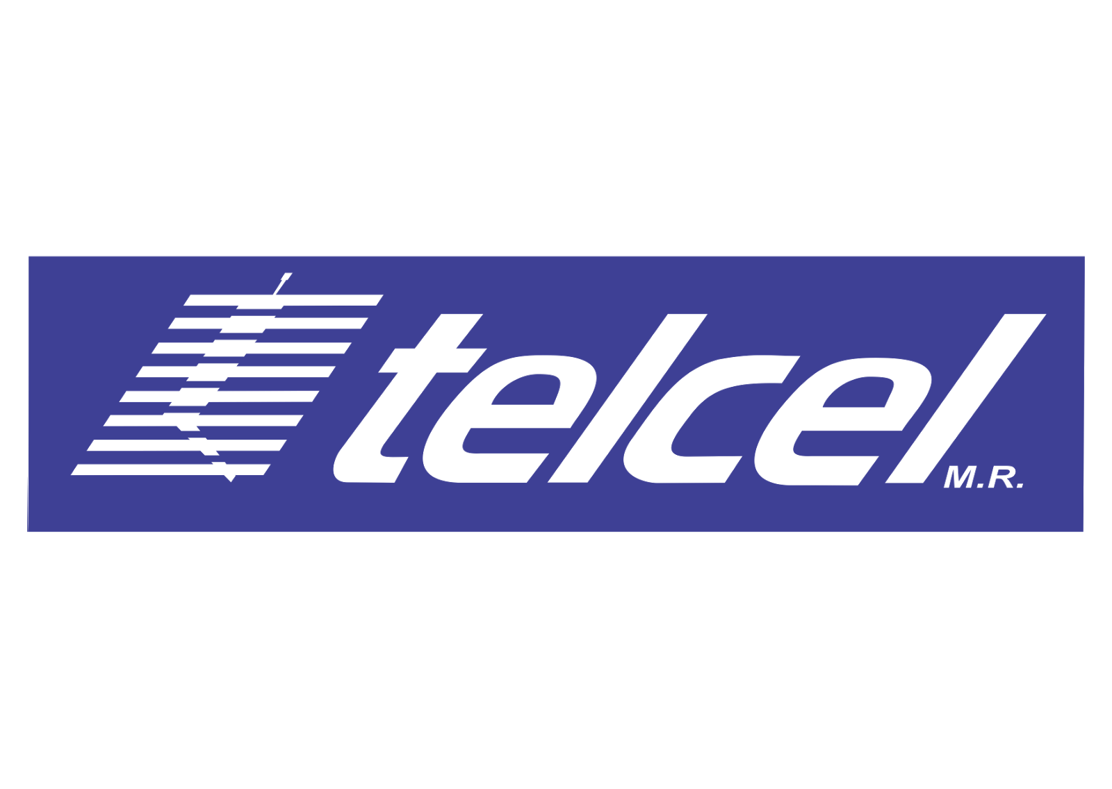 telcel logo vector wireless company format cdr ai eps
