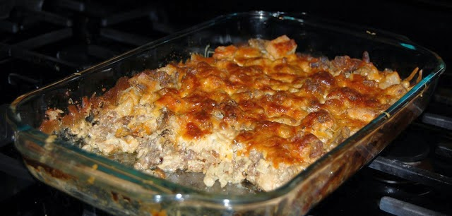 Mushroom, Chicken, and Sausage Casserole Recipe