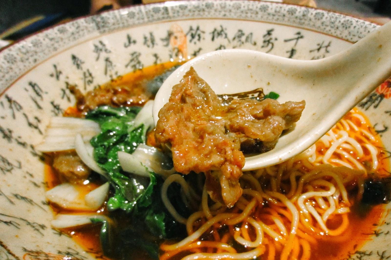 Szechuan Spicy Style Noodles