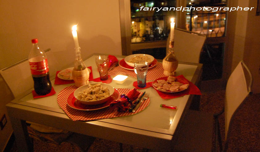 Fairy and photographer cenetta romantica - Idee per cena romantica a casa ...