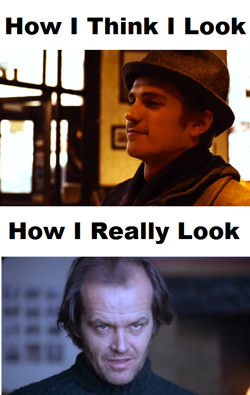 How I Think I Look - How I Really Look