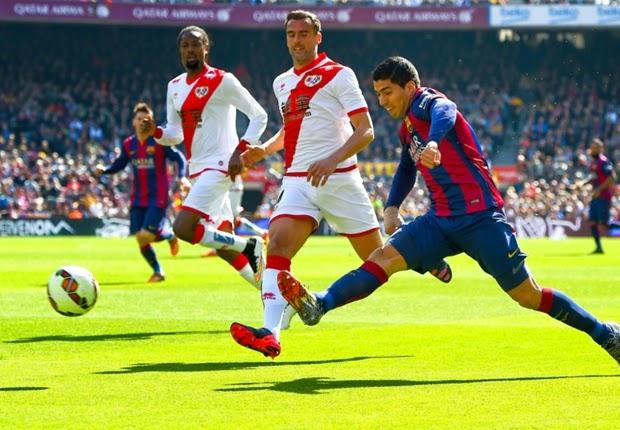 Barcelona Mengamuk, Hajar 6-1 Rayo Vallecano