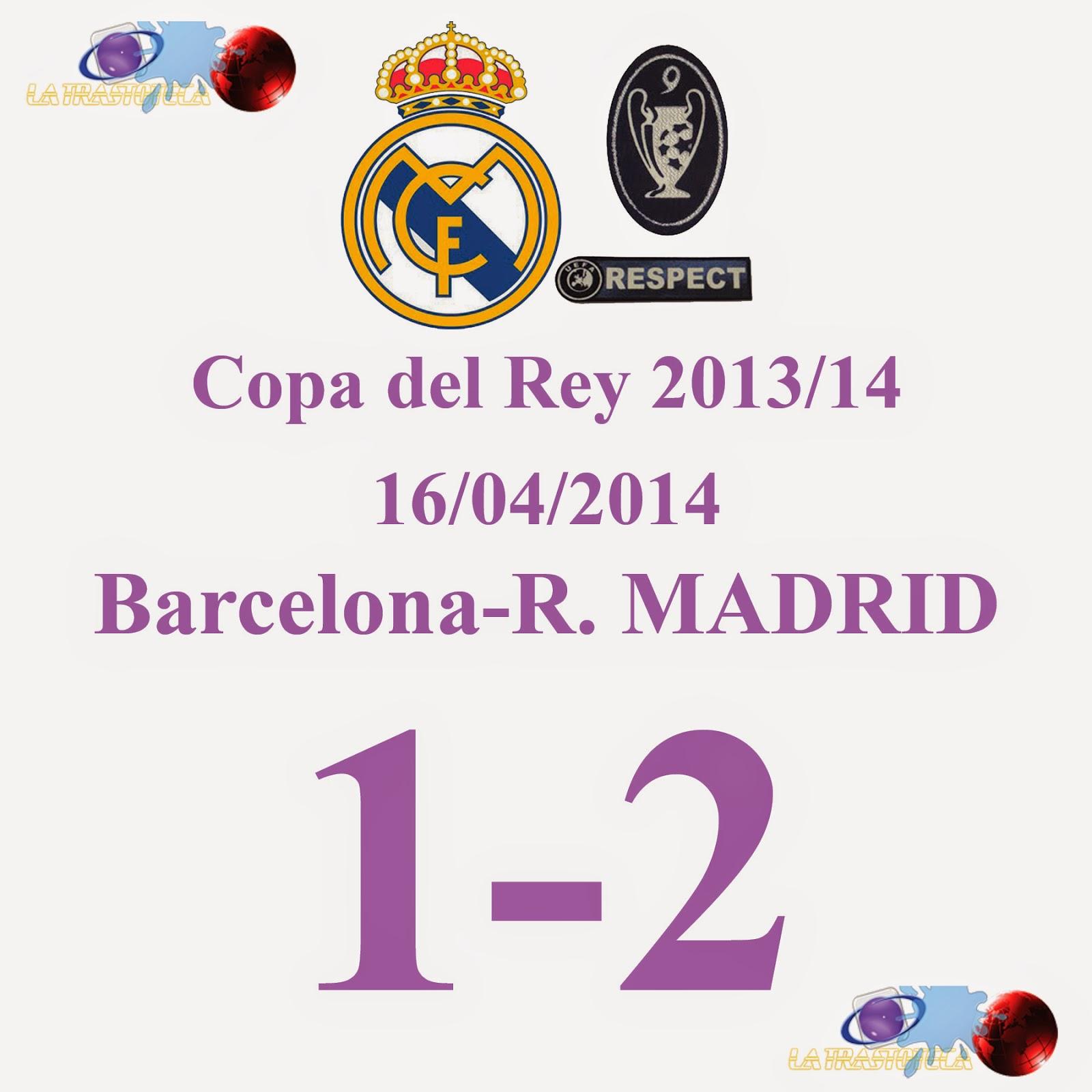 Gareth Bale (1-2) Final de la Copa del Rey 2014 - 16/04/2014 - QUE GOLAZO DIOS MIO, QUE GOLAZO