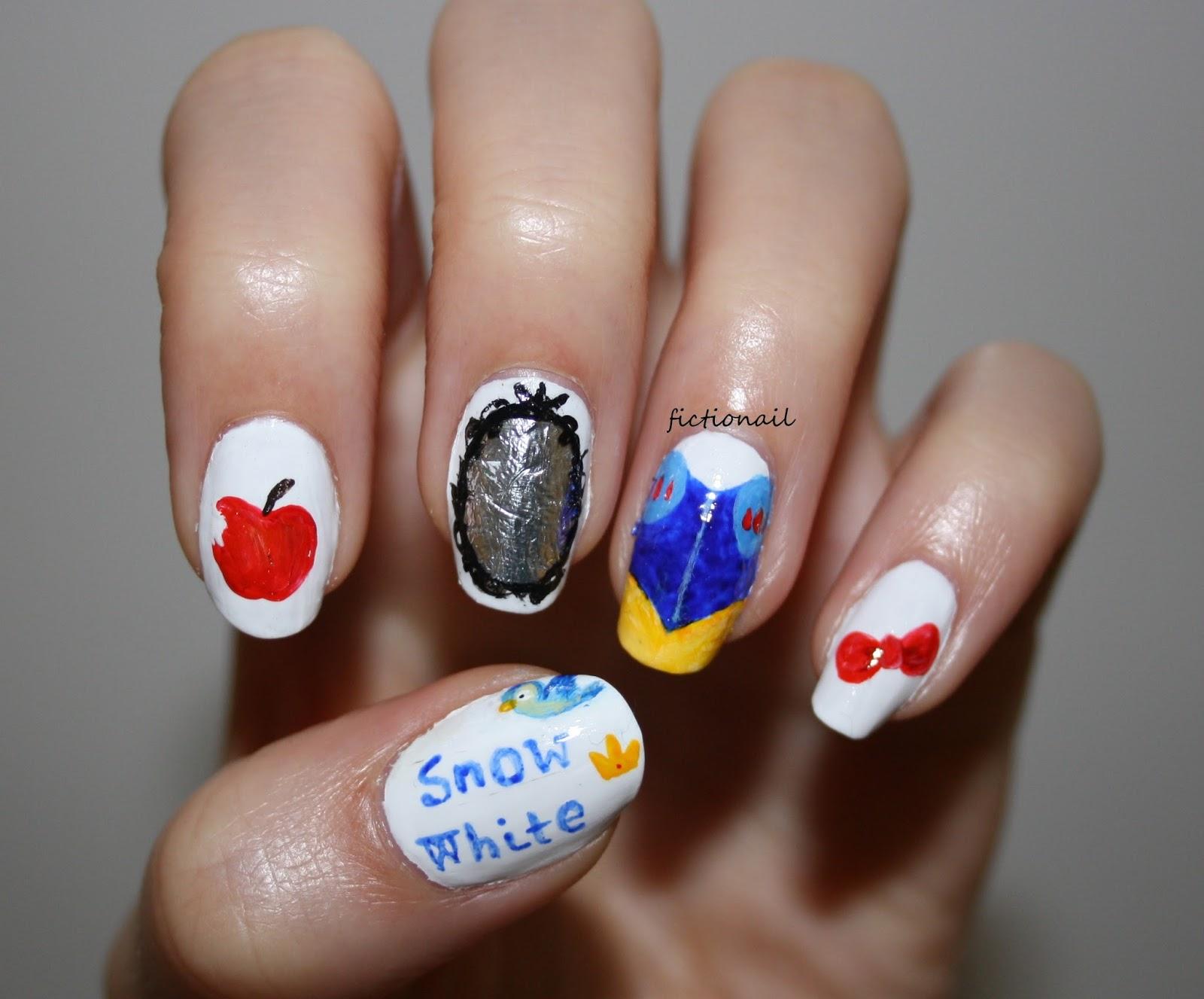 Snow White Nails