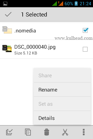 Create a new folder and name it .nomedia      Copy any pictures or videos you don't want to show in gallery into .nomedia folder
