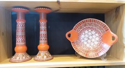 artesã; artesão; artista plástico; artesanato; feira; arte popular; lazer; Ana Rios, cerâmica