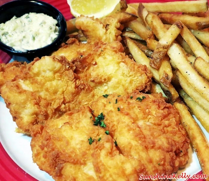 Fish & Chips, Some Things Never Change, TGI Friday's, American Restaurant, American Food