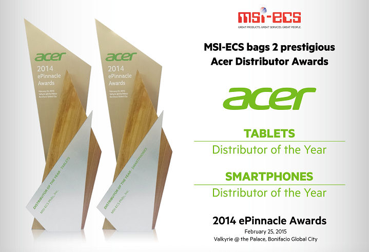 Acer ePinnacle Awards