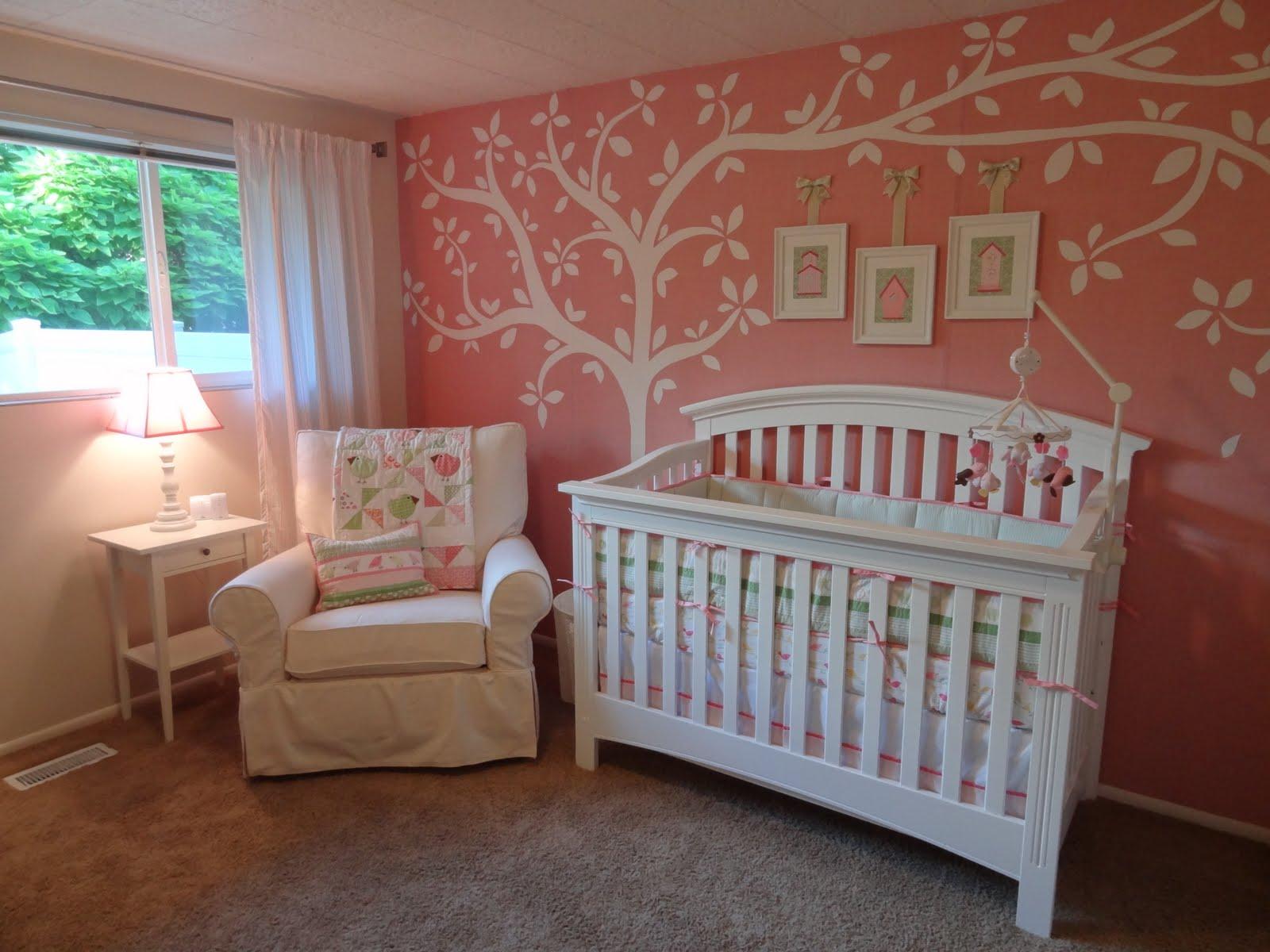 Numbered Street Designs: Adorable Baby Girl Nursery