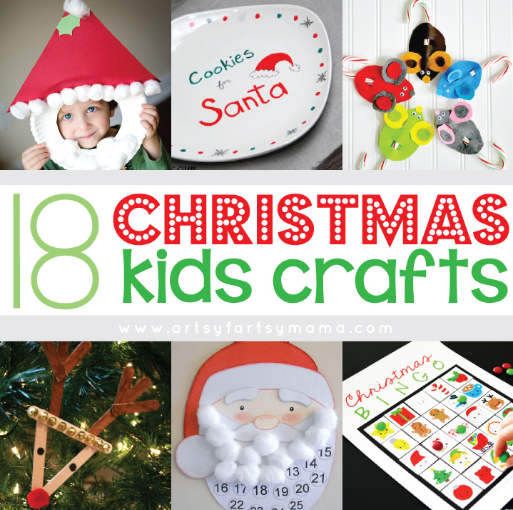 18 Christmas Kids Crafts