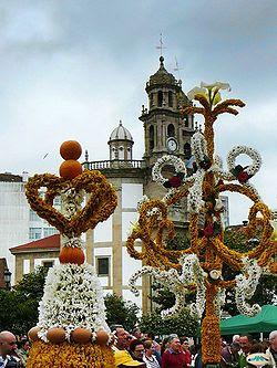 Fiesta de Os Maios Pontevedra