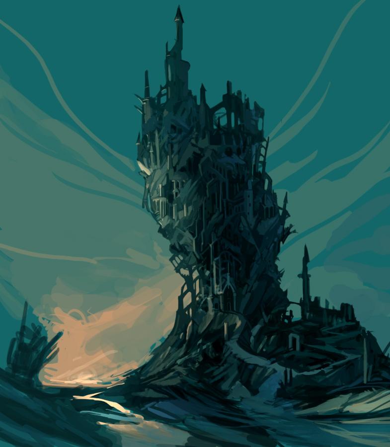 The Rusty Dagger Castlevania Inspiration