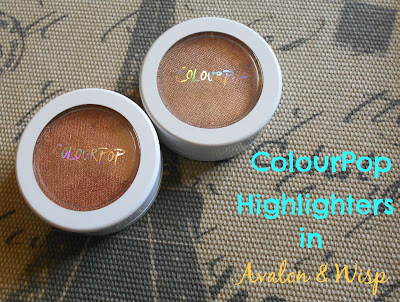 ColourPop Super Shock Highlighter in Avalon & Wisp