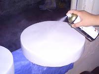 como fazer um bolo fake falso de mentira com isopor