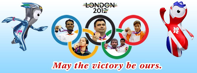 India in london olympics 2012 medals cover