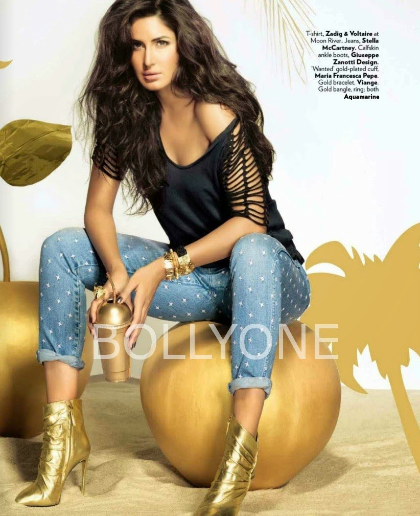 Katrina Kaif Cover Girl Pictures of Vogue Magazine December 2014