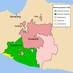wilayah mataram islam