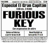 Todo A Ganador  - 25/4 - Especial El Gran Capitán - FURIOUS KEY, El Gran Capitán