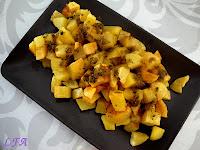 Patatas con aliño de cilantro canario