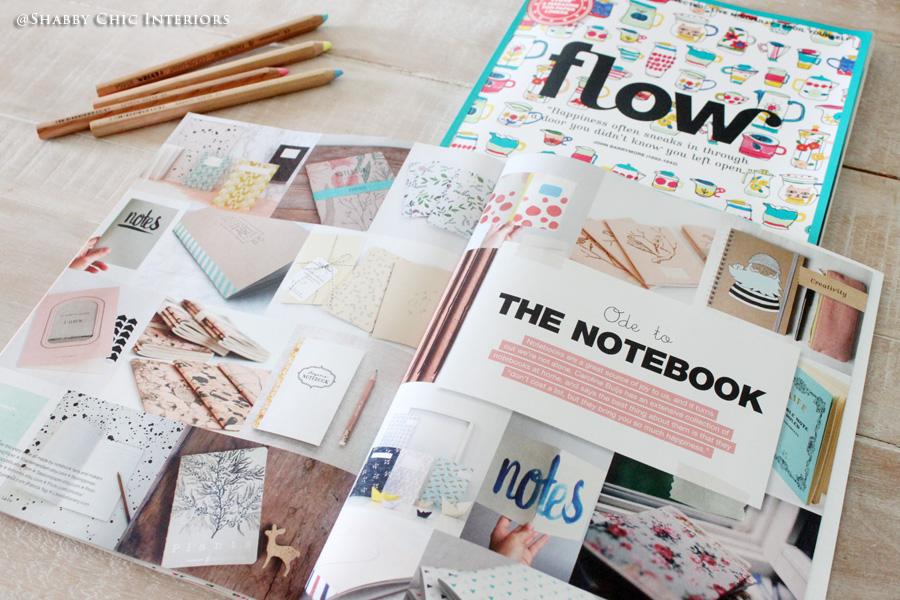 Flow magazine 100% di creatività   shabby chic interiors