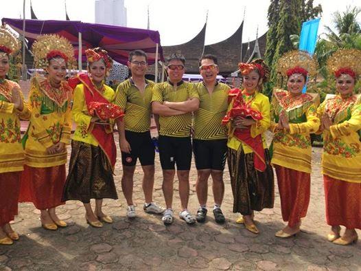 Lampung Road bikers