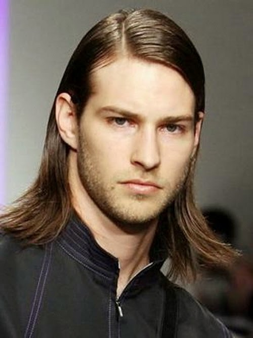 hairstyles for man with long hair: