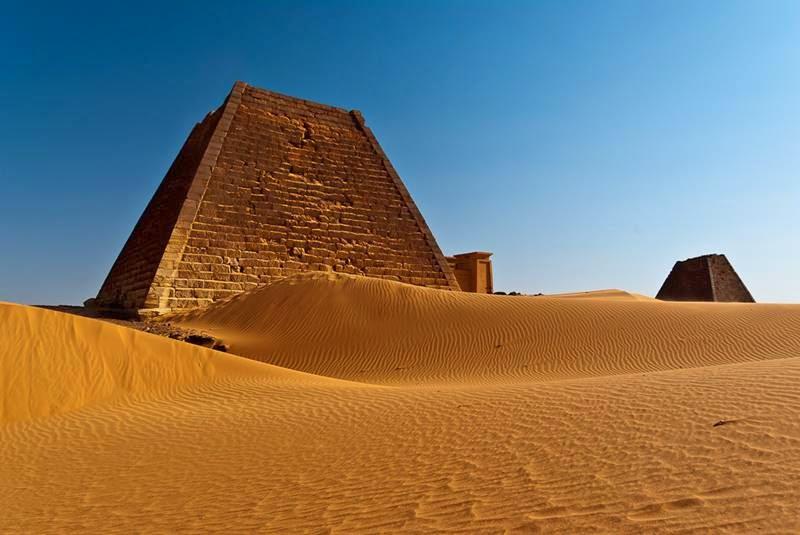 Nubian Pyramids Sudan 800x535