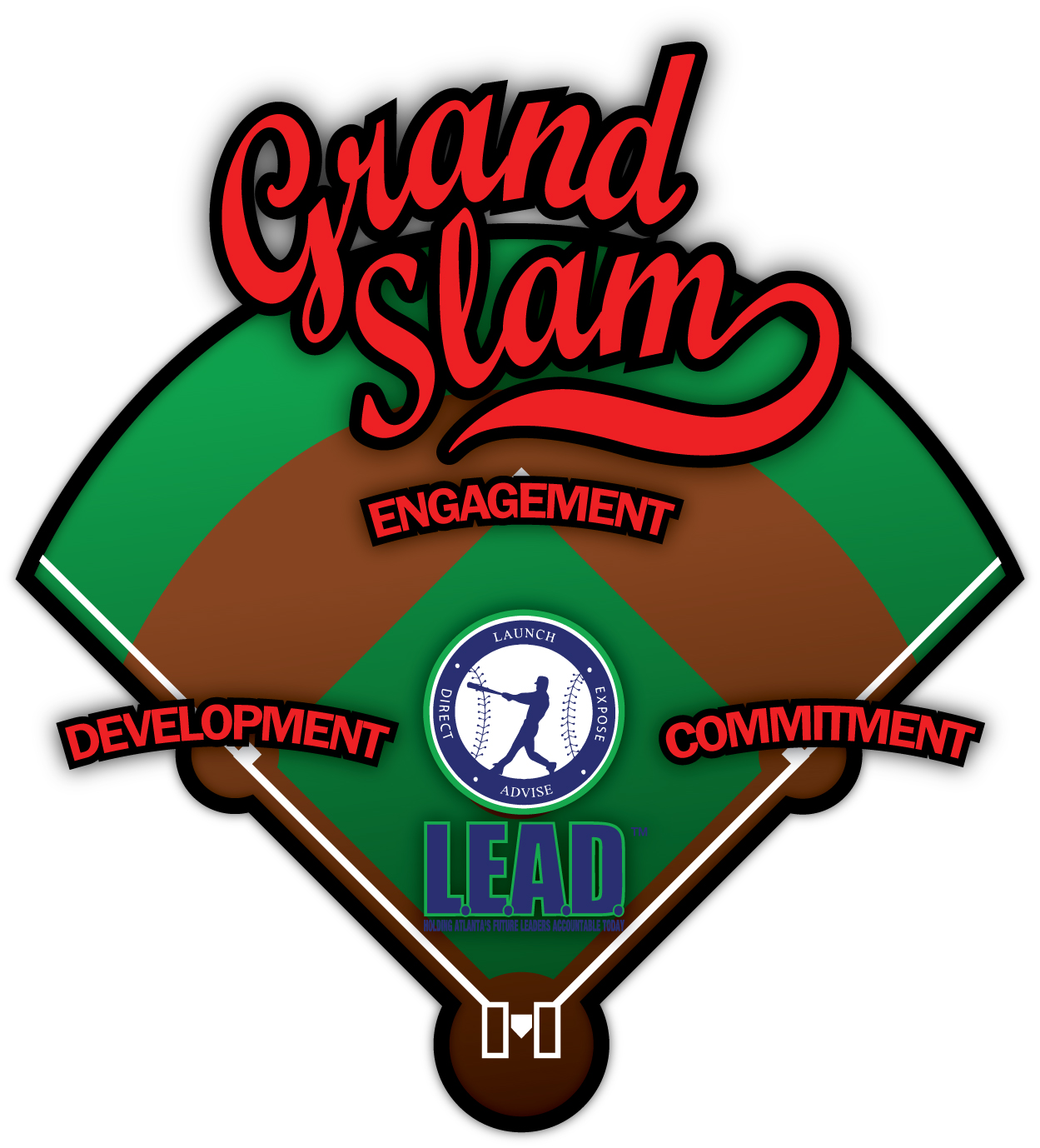 a grand slam is l e a d knocking it out of the park with bases loaded to empower atlanta s underserved inner city youth to lead atlanta the nation