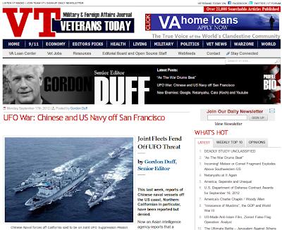 Navios de guerra dos EUA e China se preparam para invasão extraterrestre?