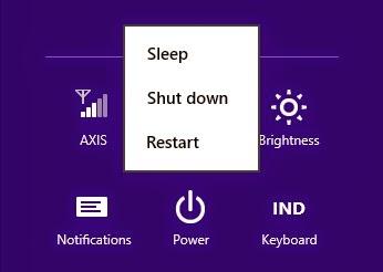 Cara mudah mengaktifkan Fungsi Hibernate pada Windows 8