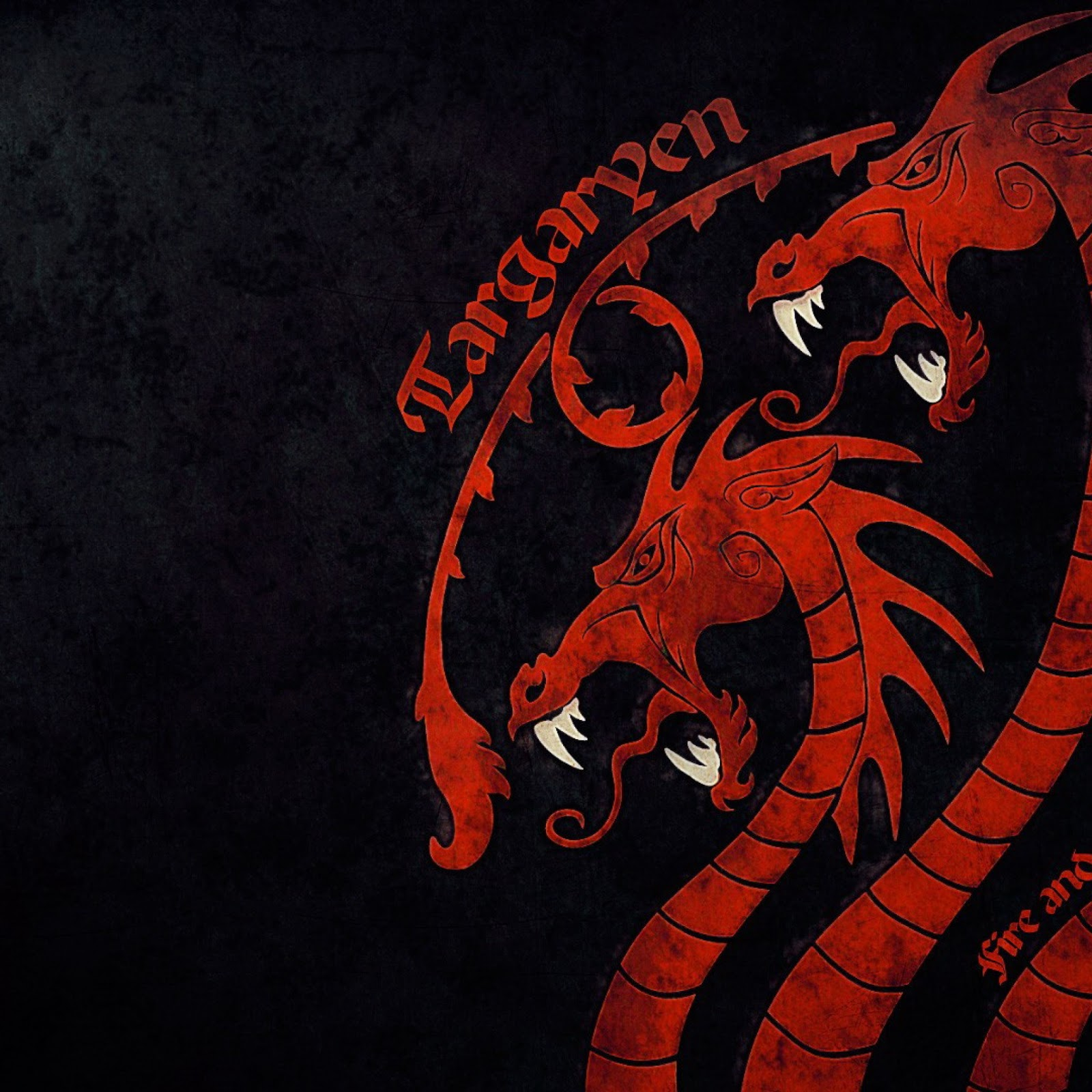 Motto Of House Targaryen: Fire And Blood