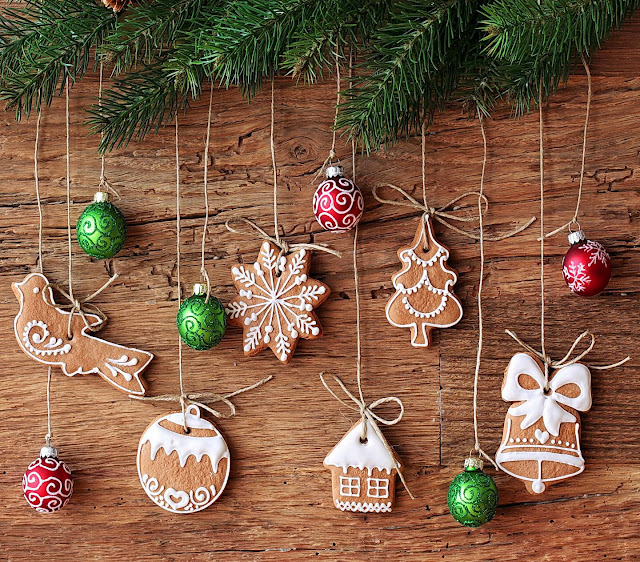 merry christmas decorations wallpaper hd