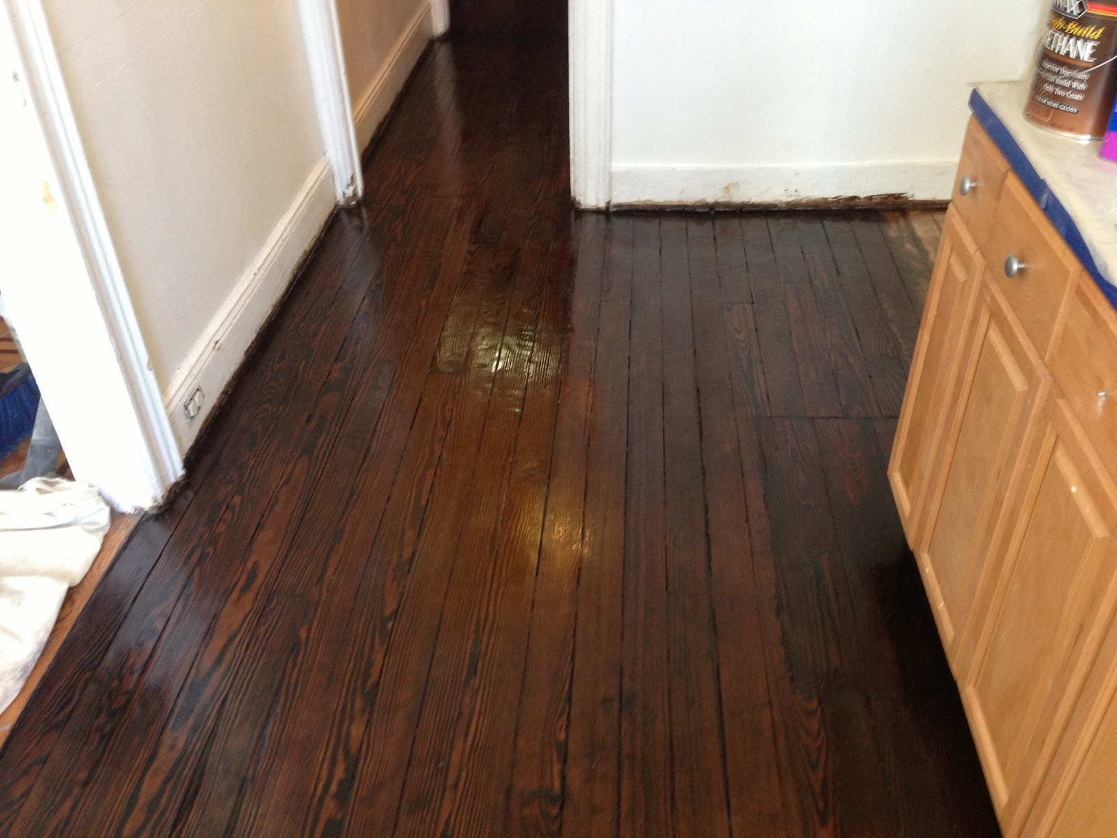 Buying our first home in queens ny floors stain and finish for Hardwood floors queens ny