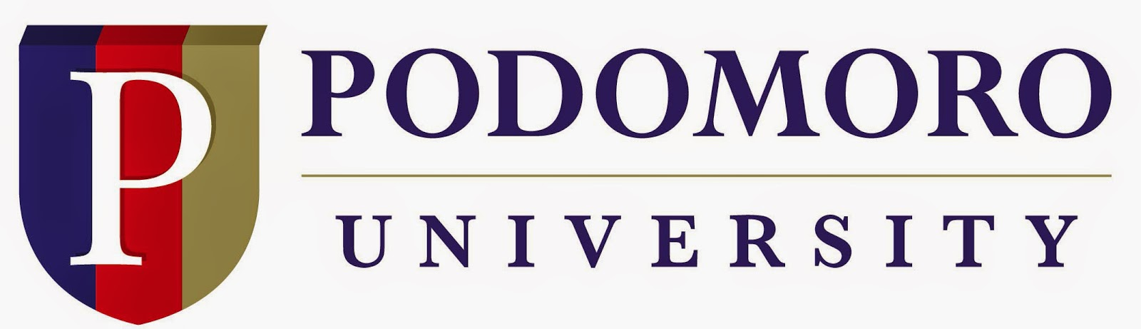 Logo Universitas Podomoro - Ardi La Madi's Blog