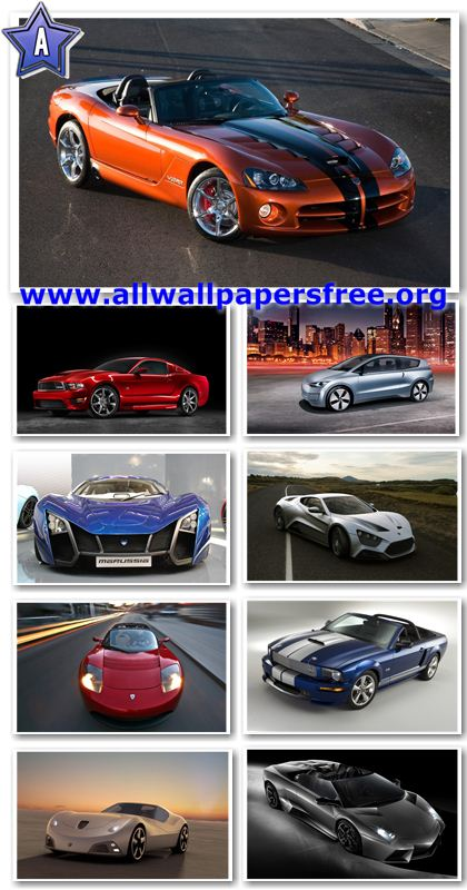 100 Amazing Cars Widescreen Wallpapers 1920 X 1200 [Set 3]