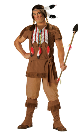 u201cIndian Brave Adult Menu0027s Costumeu201d  sc 1 st  Native Appropriations & Halloween Costume Shopping: A sampling of the racism for sale ...