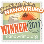 NaNoWriMo NOVEMBRE 2011