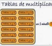 Juego de la tablas de multiplicar