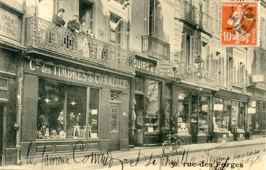 Dijon en 1900 janvier 2009 - La maison de la place saignon ...