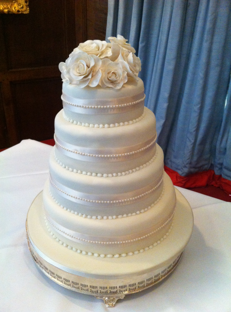 Flour Power Cake Journey: The WOW Factor Wedding Cake!