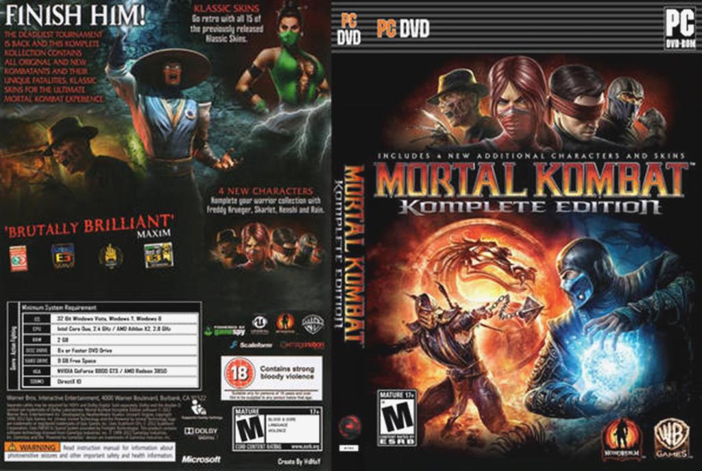 mortal kombat games for pc