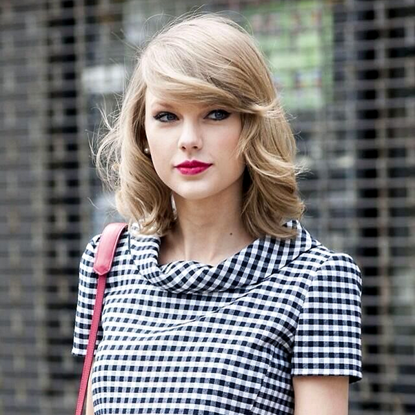 Bob - Novo Corte de Cabelo Cut Long Bob Taylor Swift