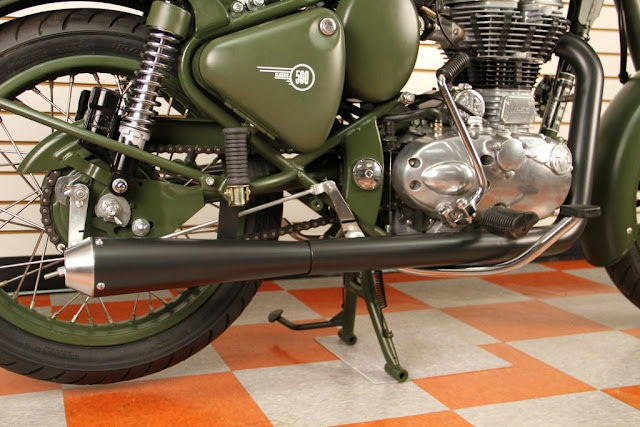 ROYAL ENFIELD BULLET 500 PERFORMANCE MUFFLER | ROYAL ENFIELD BULLET PERFORMANCE EXHAUST | ROYAL ENFIELD BULLET 500 STRAIGHT PERFORMANCE EXHAUST FULL SYSTEM