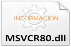 que es Msvcr80 dll