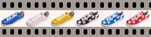 Ténis - sneakers da Pharrell Williams com a Addidas