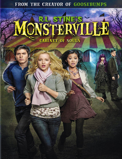 Ver R.L. Stine's Monsterville: The Cabinet of Souls (2015) Online